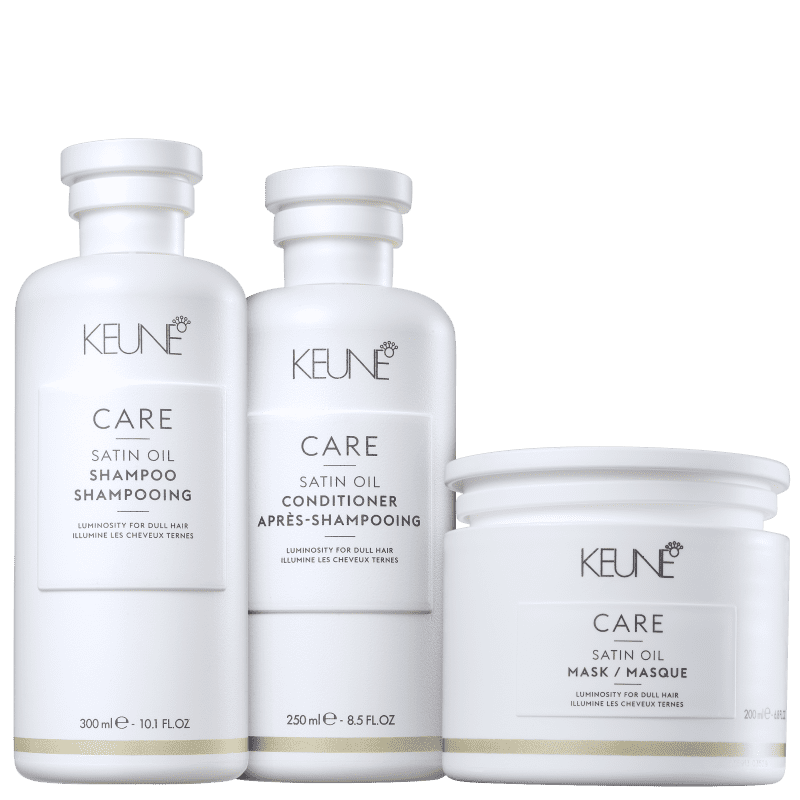Kit Keune Care Satin Oil Tratamento Profundo (3 Produtos)