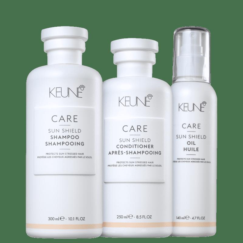 Kit Keune Care Sun Shield Proteção Extra (3 Produtos)