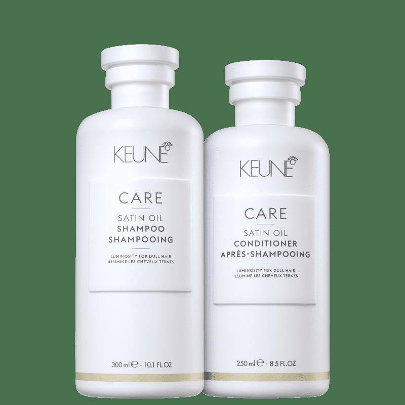 Kit Keune Satin Oil Cuidado Diário (2 Produtos)