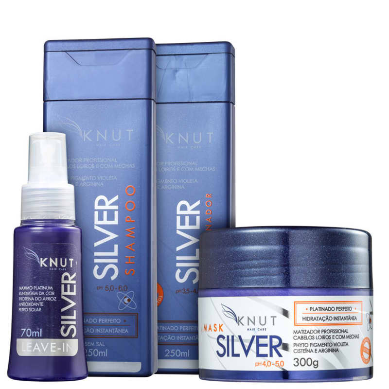 Kit Knut Silver (4 Produtos)