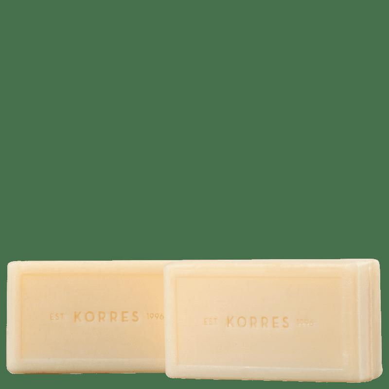 Kit Korres Pimenta Rosa - Sabonete em Barra 2x90g