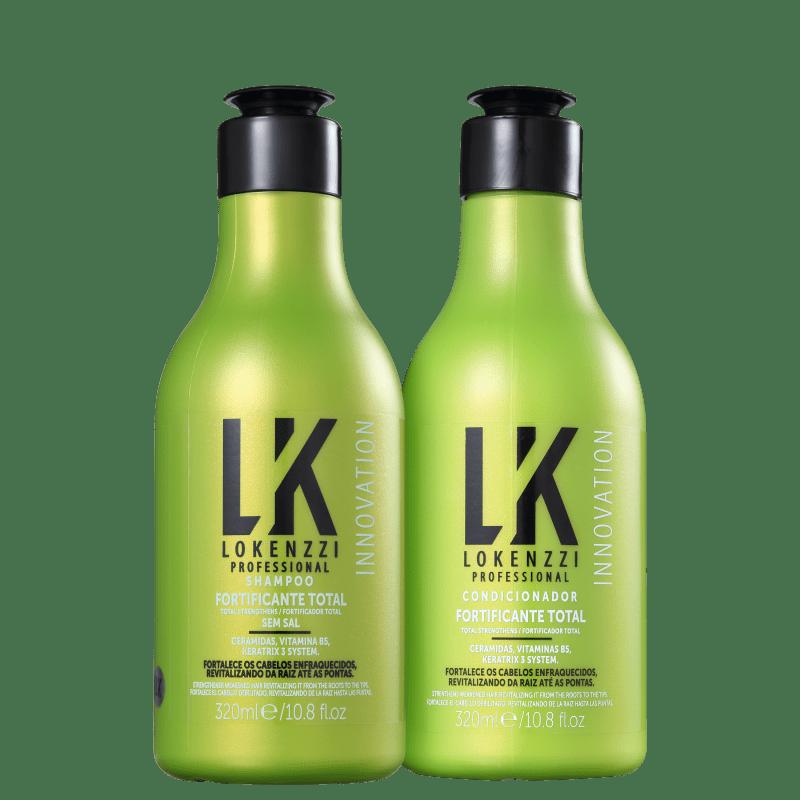 Kit Lokenzzi Fortificante Total Duo (2 Produtos)