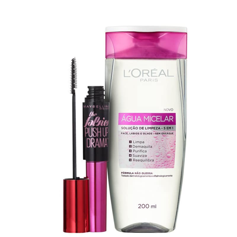 Kit L'Oréal Maybelline Make (2 Produtos)