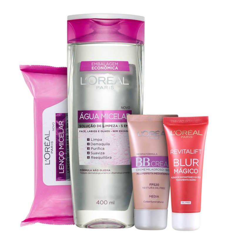 Kit L'Oréal Paris Expertise Micelar Blur (4 Produtos)