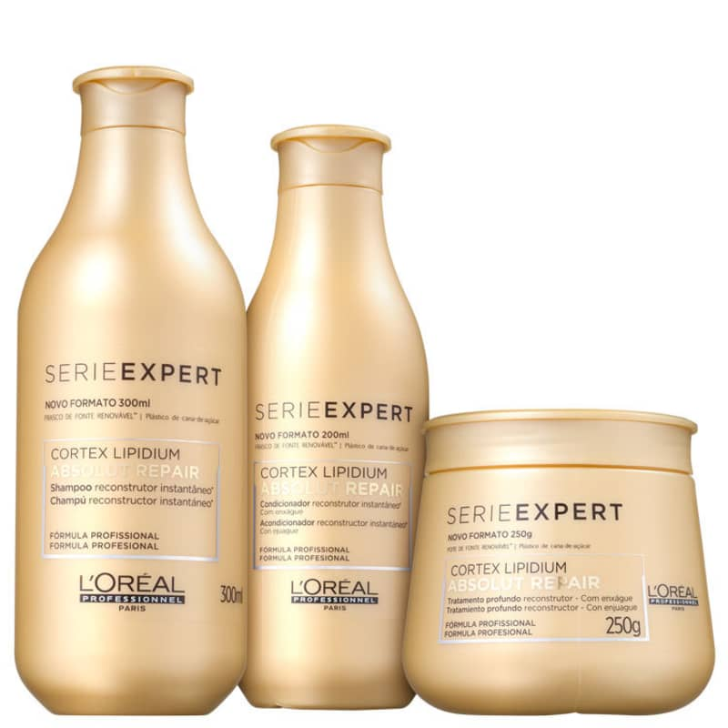Kit L'Oréal Professionnel Absolut Repair Lipidium Tratamento (3 Produtos)