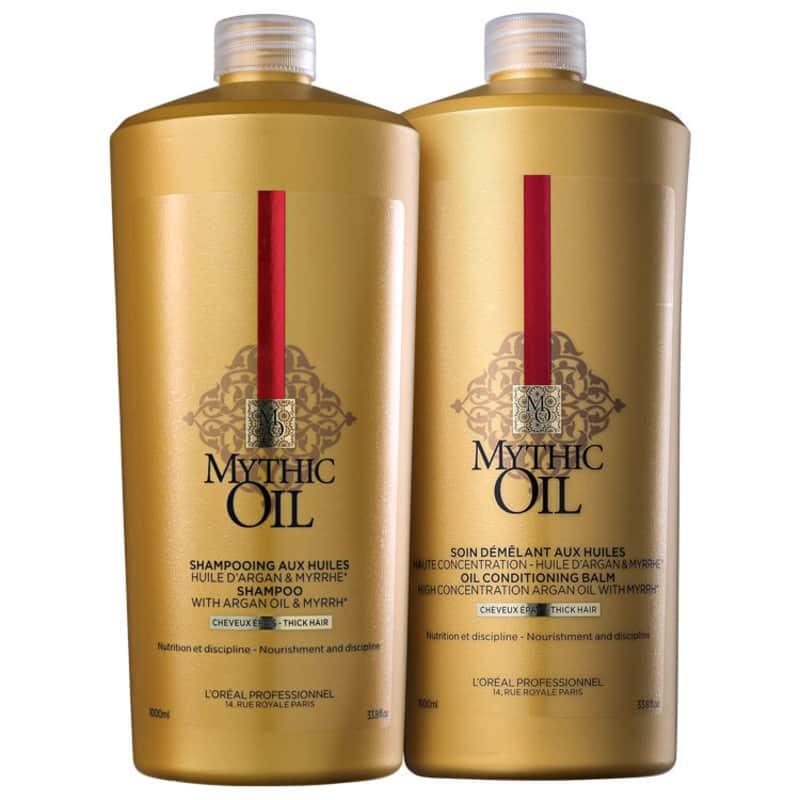 Kit L'Oréal Professionnel Mythic Oil with Argan Oil & Myrrh Duo (2 Produtos)