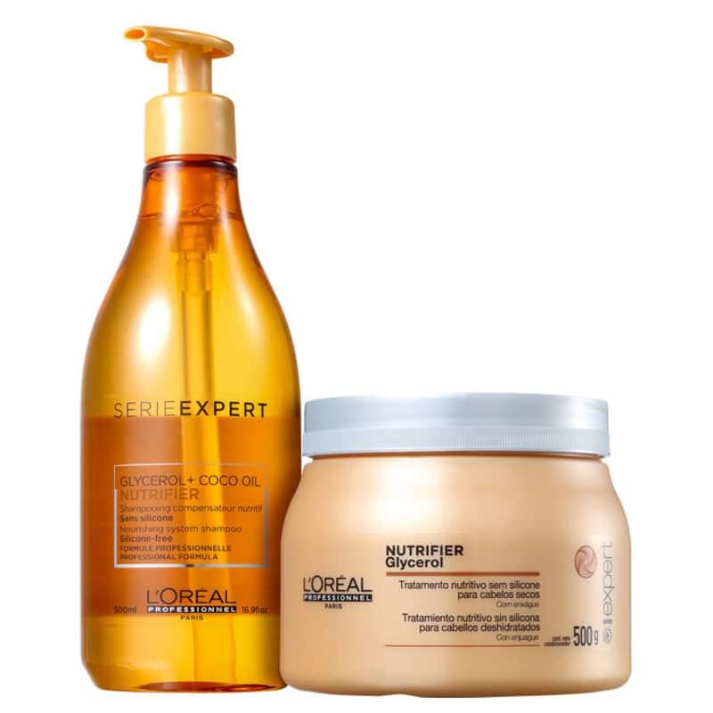 Kit L'Oréal Professionnel Nutrifier Expert (2 Produtos)