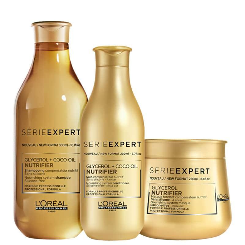 Kit L'Oréal Professionnel Serie Expert Nutrifier Trio (3 Produtos)