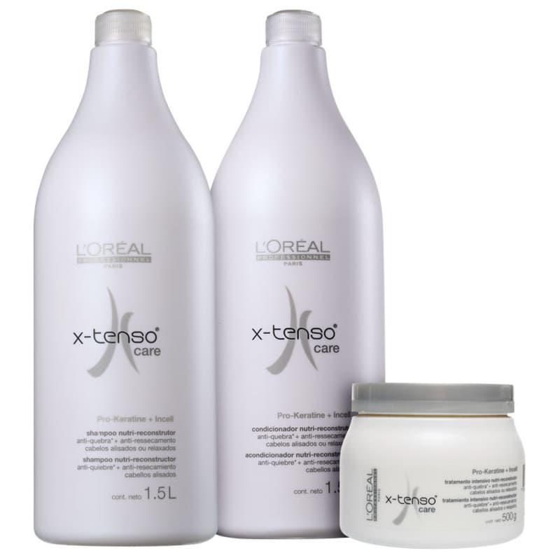 Kit L'Oréal Professionnel X-Tenso Care Salon (3 Produtos)
