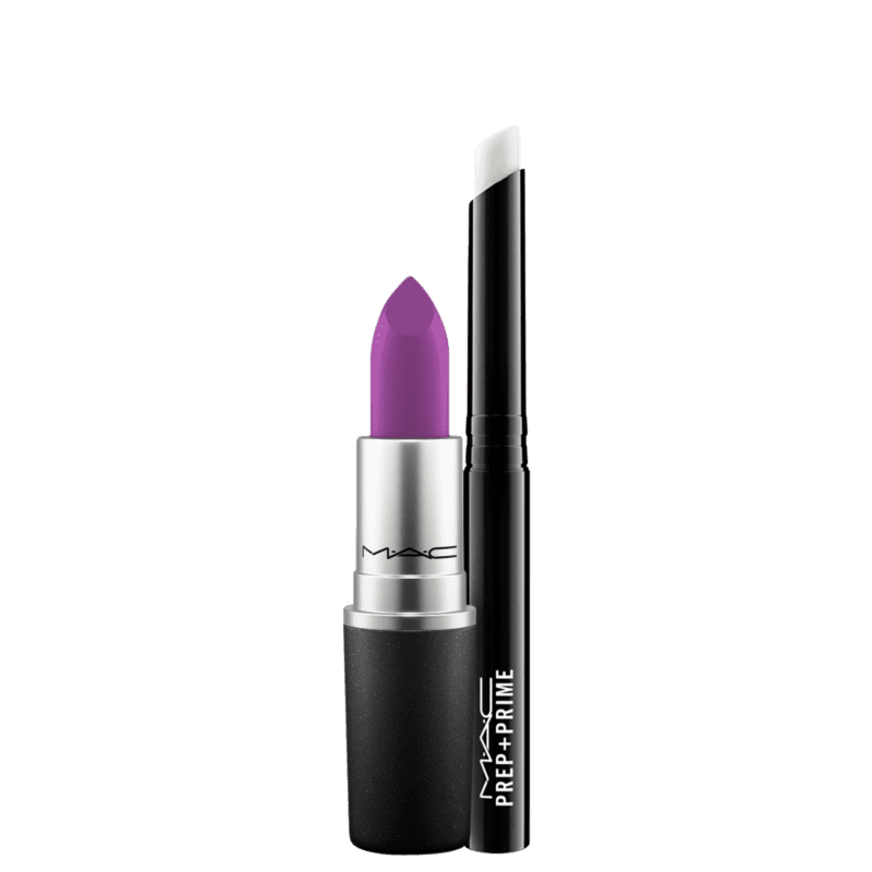 Kit M·A·C Perfect Purple Lips Roxo (2 produtos)