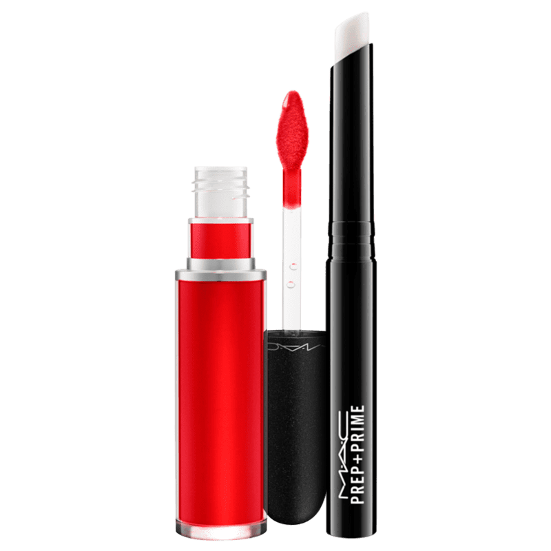 Kit M·A·C Retro Matte Liquid Feels So Grand & Primer (2 Produtos)