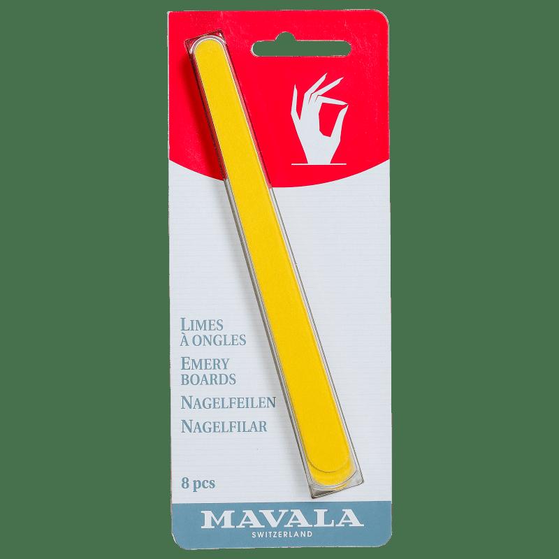 Kit Mavala Emery Boards de Lixas (8 unidades)