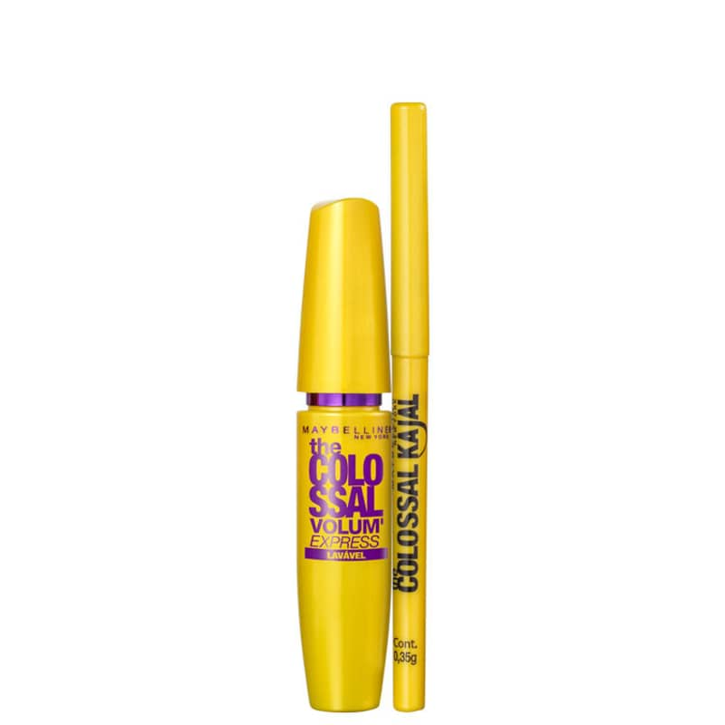 Kit Maybelline The Colossal Colossal Duo (2 produtos)