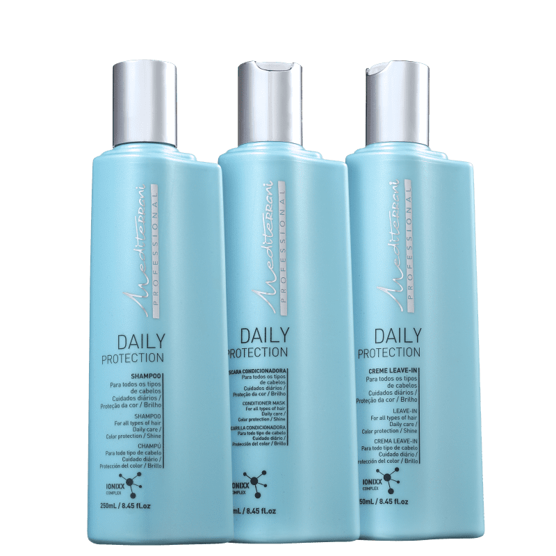 Kit Mediterrani Daily Protection Trio (3 Produtos)