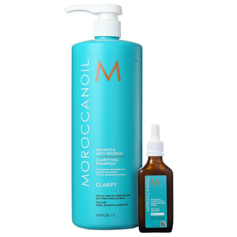 Kit Moroccanoil Clarifying (2 Produtos)