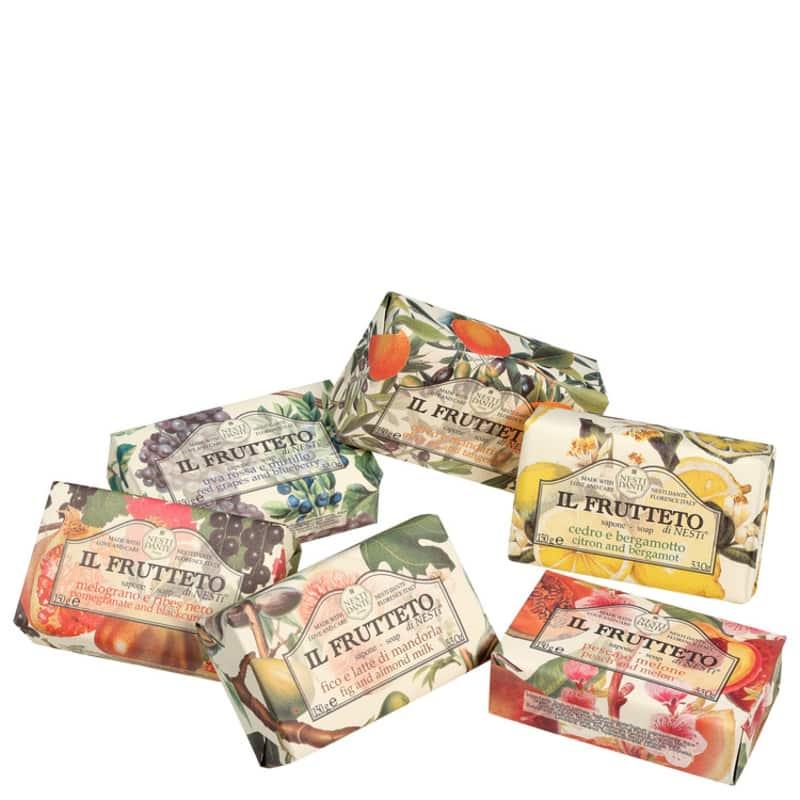 Kit Nesti Dante Collection Il Frutteto - Sabonetes em Barra 6x150g
