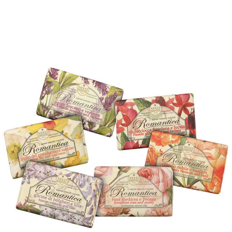Kit Nesti Dante Collection Romantica - Sabonetes em Barra 6x150g