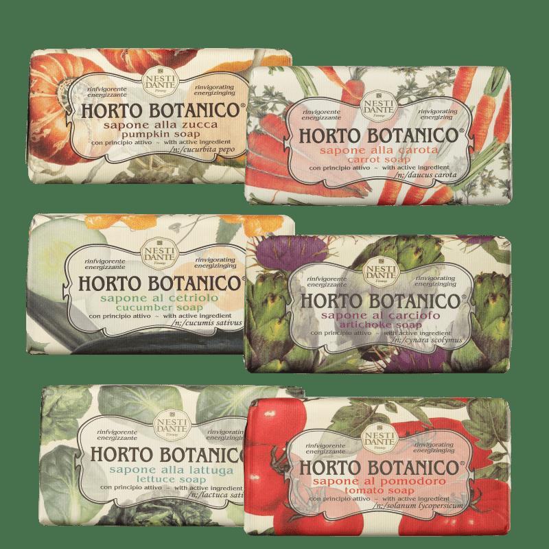 Kit Nesti Dante Horto Botanico - Sabonetes em Barra 6x250g