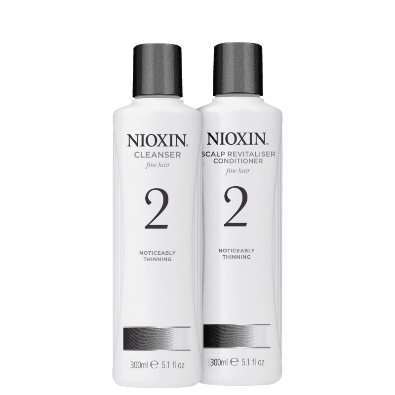 Kit Nioxin System 2 Hair (2 Produtos)