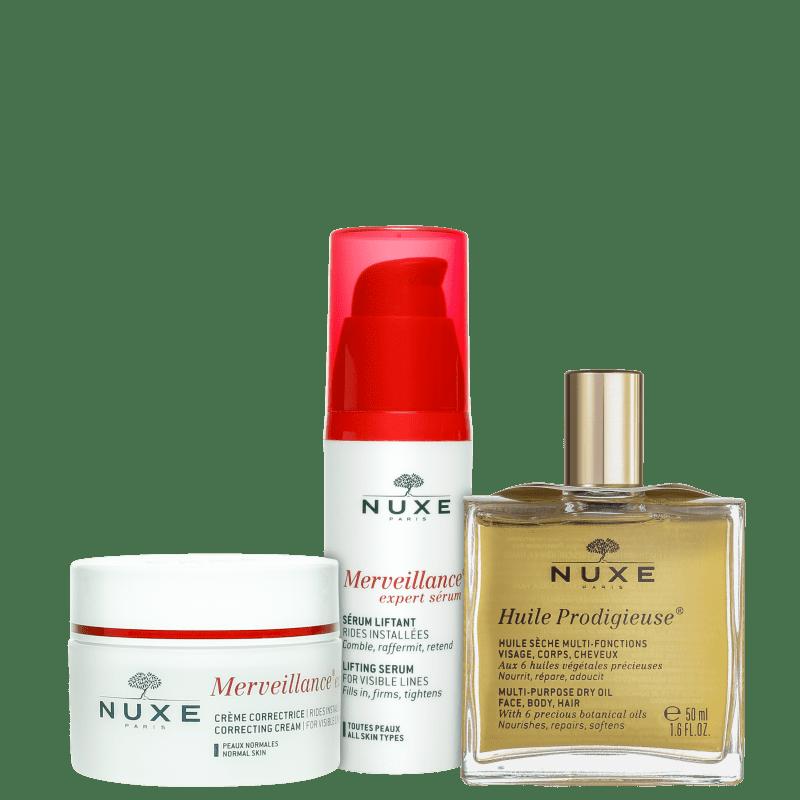 Kit Nuxe Merveillance Expert Lifting Facial (3 produtos)