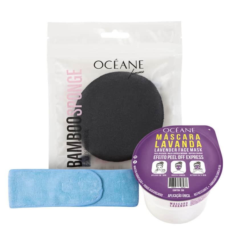 Kit Océane Headband Lavanda Bamboo (3 Produtos)