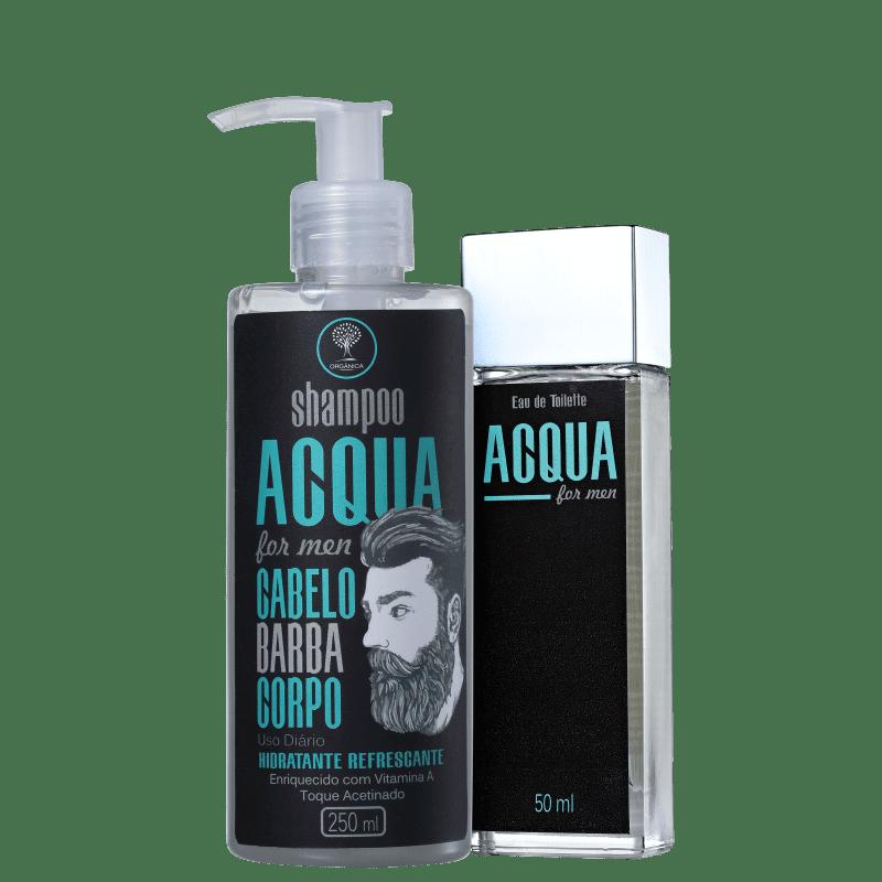 Kit Orgânica Acqua For Men (2 Produtos)