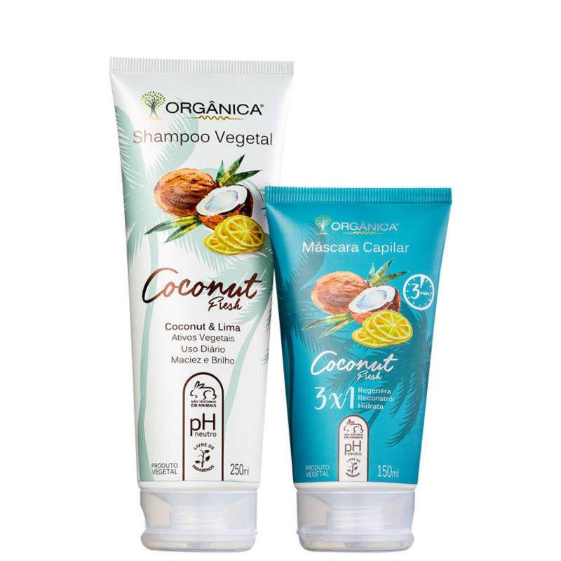 Kit Orgânica Coconut Fresh Duo (2 Produtos)