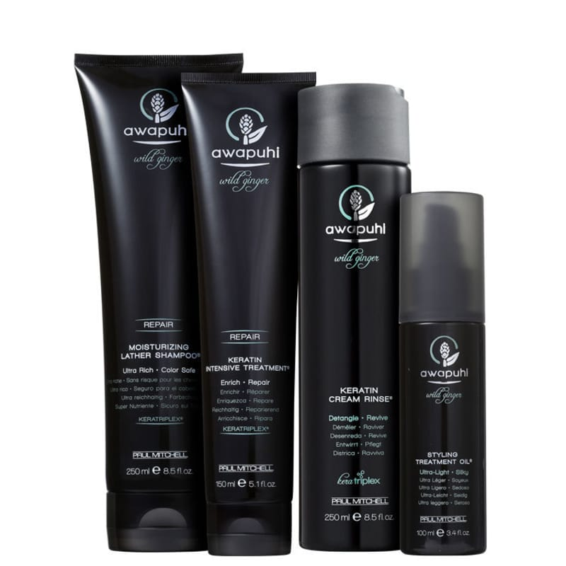Kit Paul Mitchell Awapuhi Wild Ginger Full Treatment (4 Produtos)