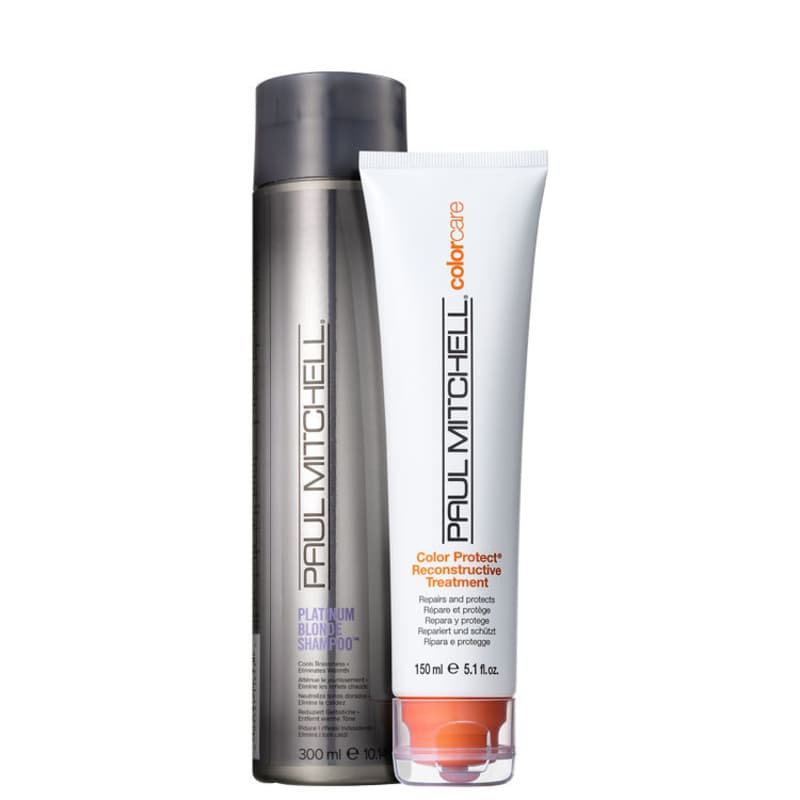 Kit Paul Mitchell Color Care Blonde Reconstruct (2 Produtos)