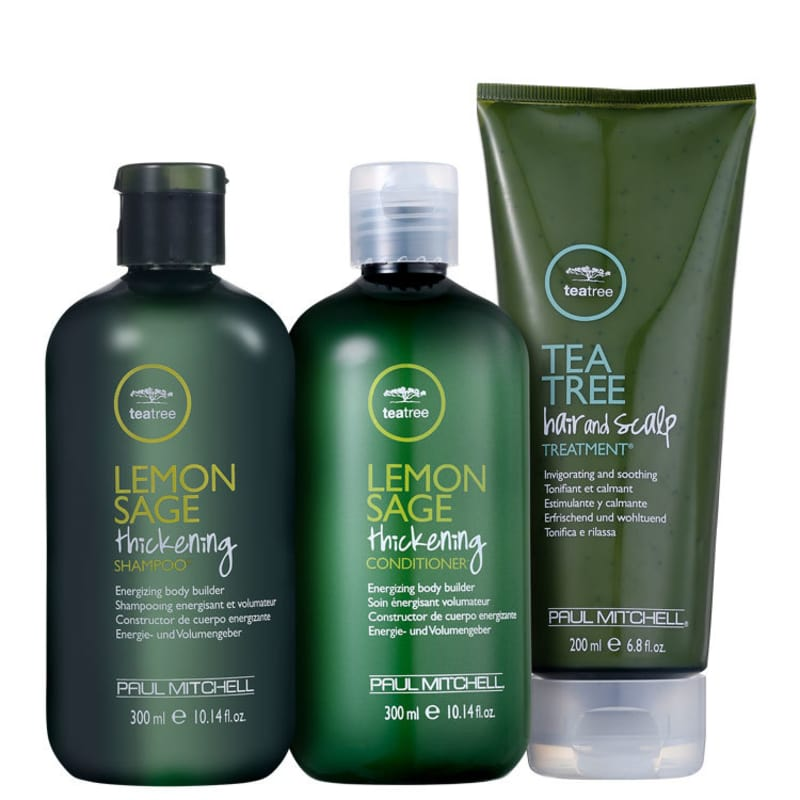 Kit Paul Mitchell Tea Tree Deep Treatment (3 Produtos)