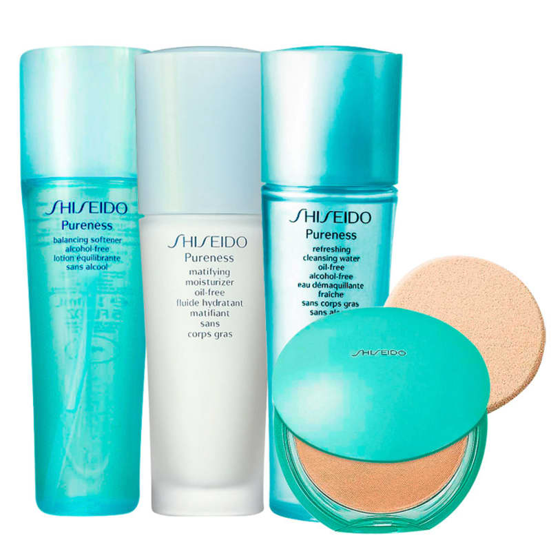 Kit Shiseido Pele Linda (4 produtos)