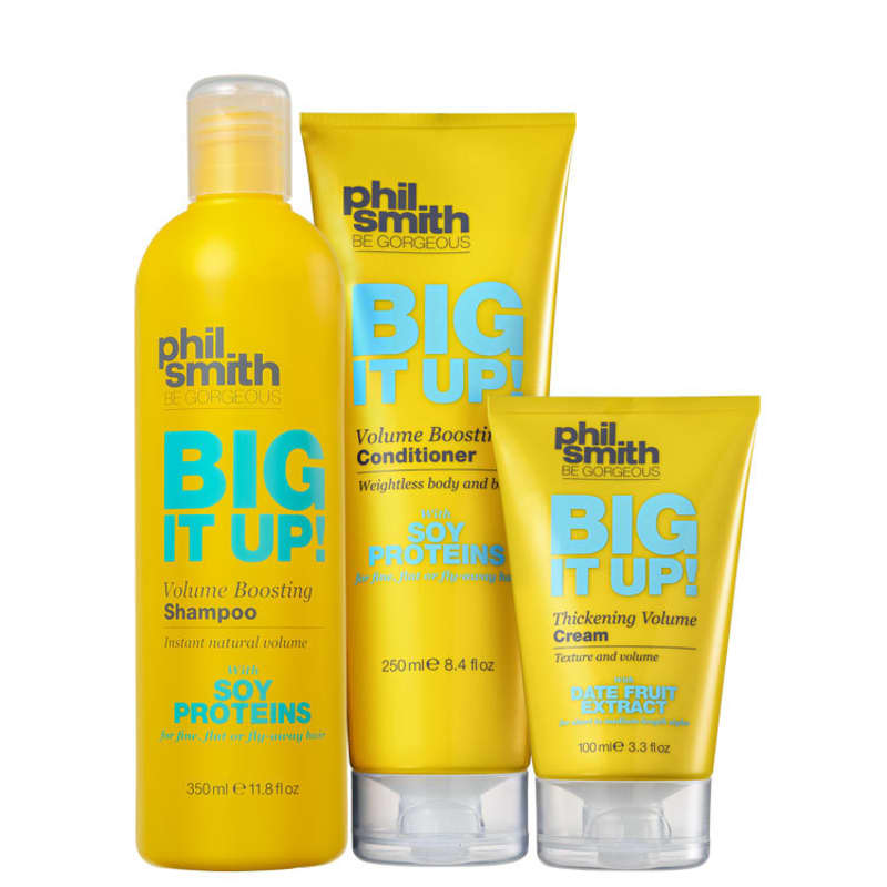 Kit Phil Smith Big It Up Thickening Volume Boosting (3 Produtos)