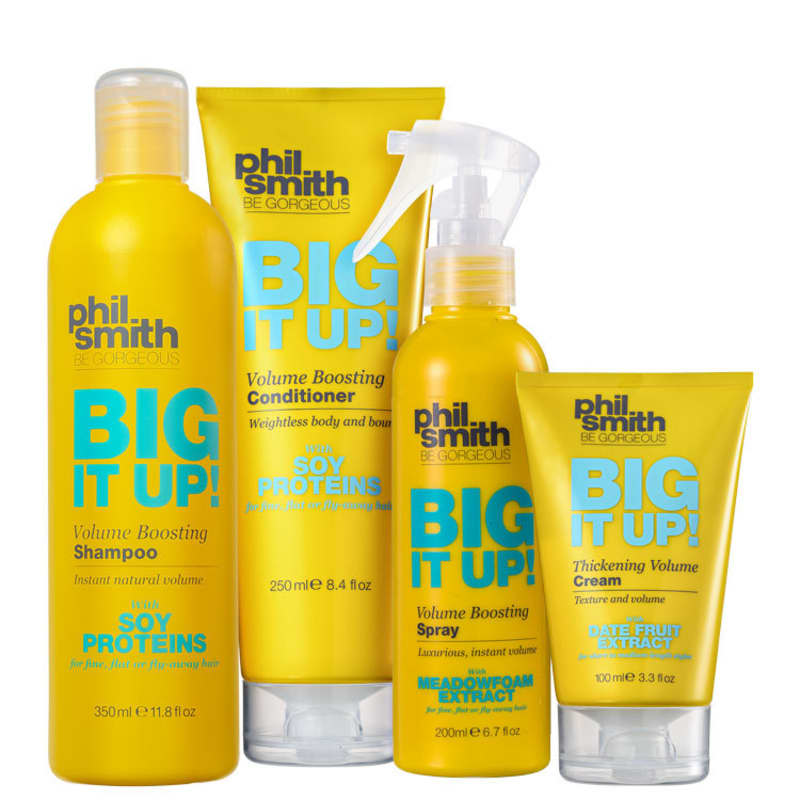 Kit Phil Smith Big It Up Volume Boosting Tratamento (4 Produtos)
