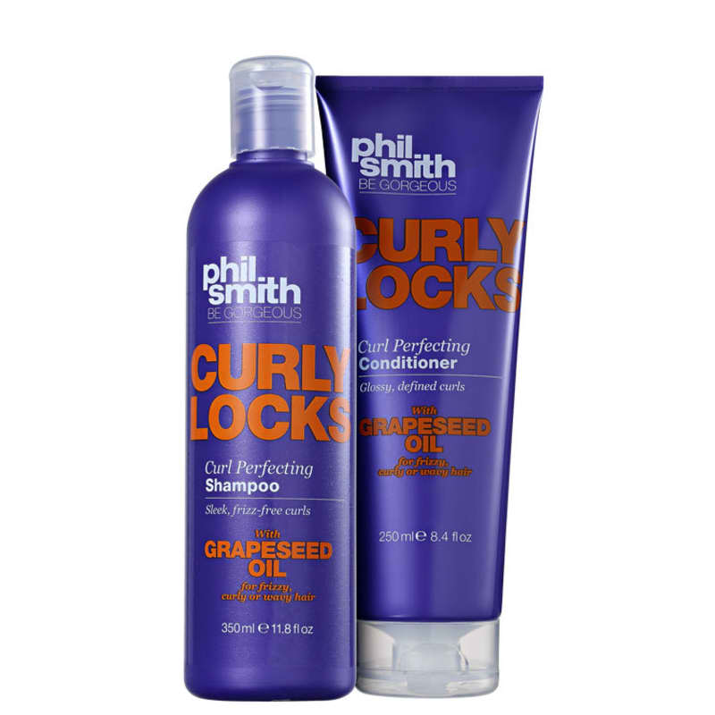 Kit Phil Smith Curly Locks Curl Perfecting Duo (2 Produtos)