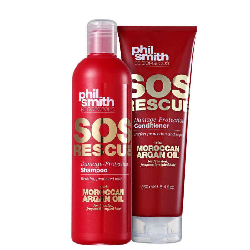 Kit Phil Smith SOS Rescue Damage-Protection Duo (2 Produtos)