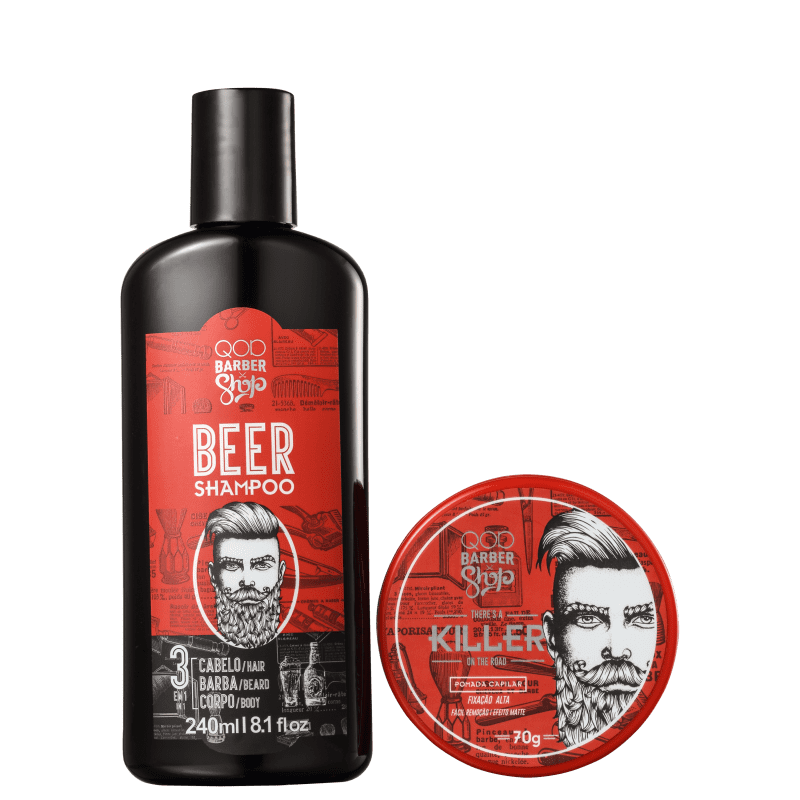 Kit QOD Barber Shop Killer (2 Produtos)