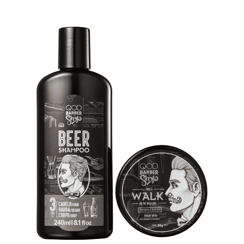 Kit QOD Barber Shop Walk (2 Produtos)
