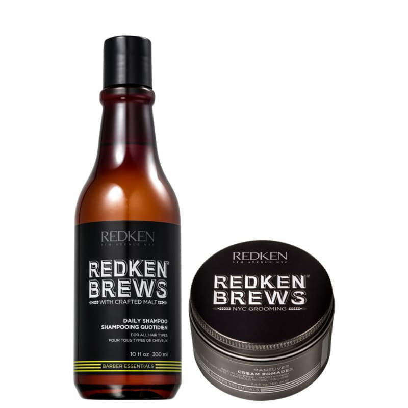 Kit Redken Brews Daily Maneuver (2 Produtos)
