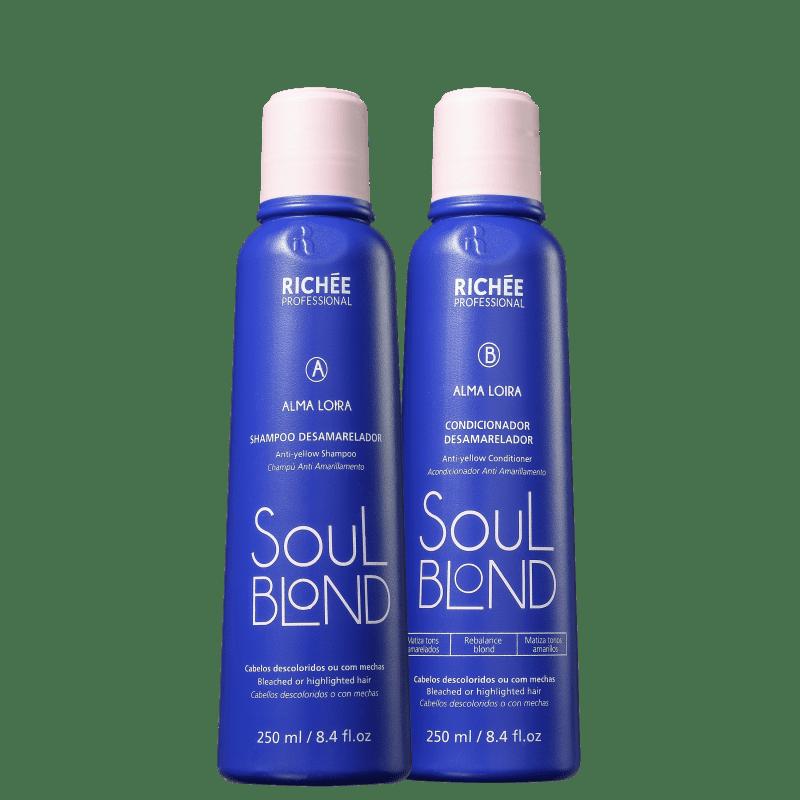 Kit Richée Soul Blond Duo (2 Produtos)