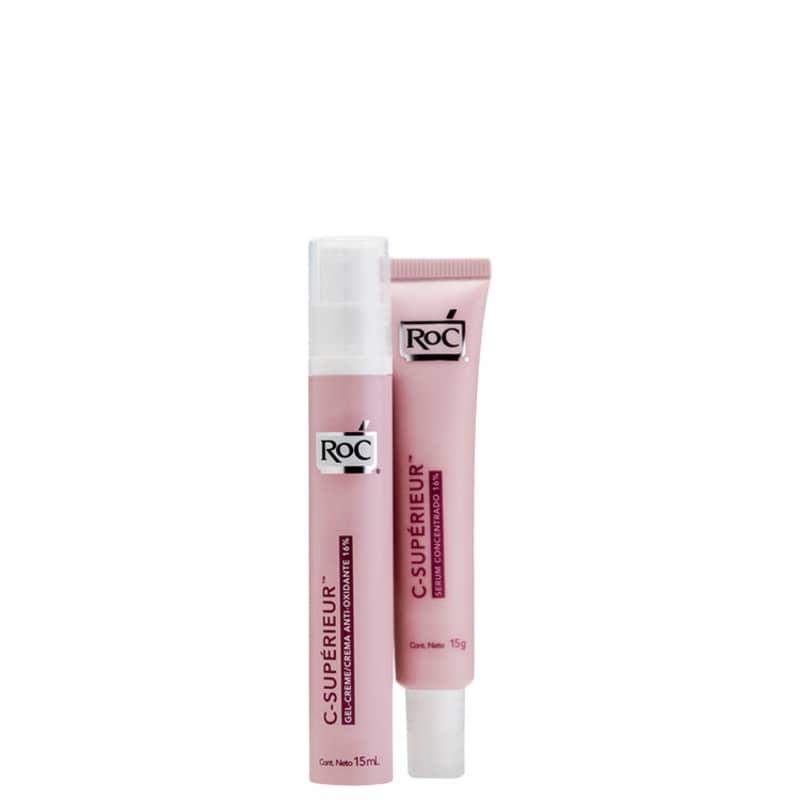 Kit RoC C-Supérieur Antioxidante Concentrado (2 produtos)