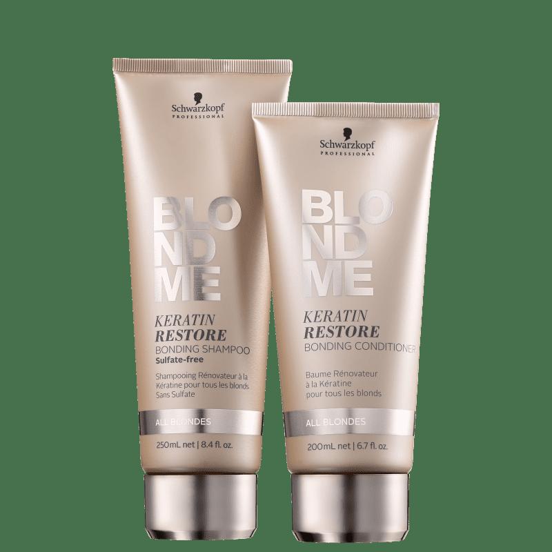 Kit Schwarzkopf Professional BlondMe Cuidado Diário (2 Produtos)