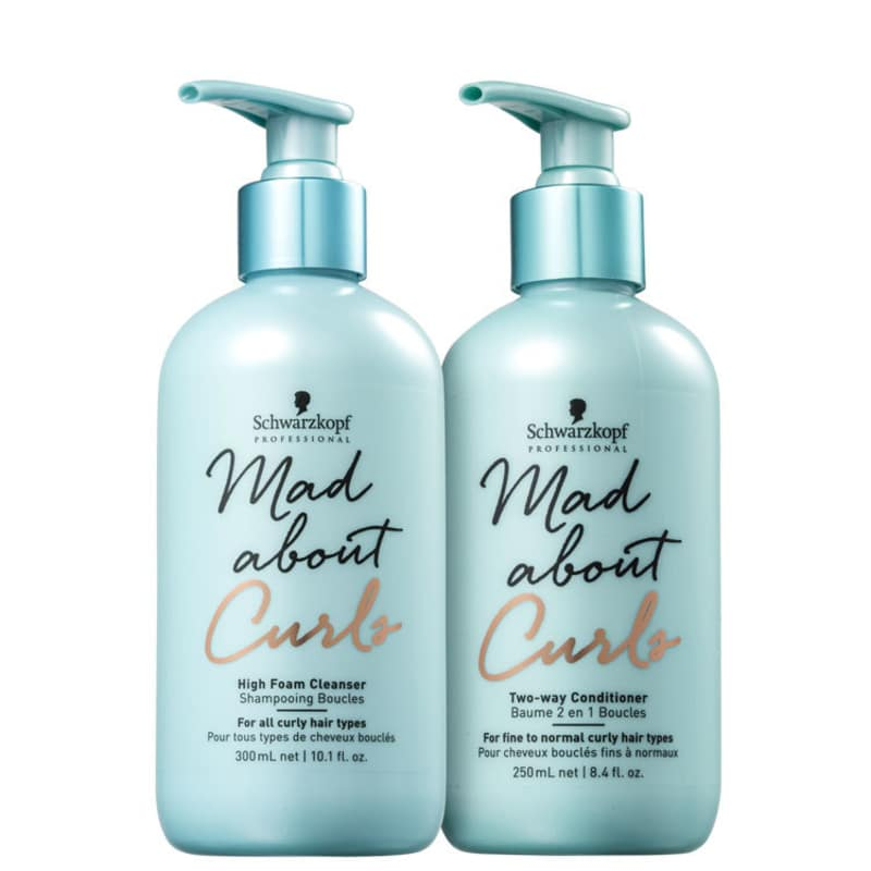 Kit Schwarzkopf Professional Mad About Curls Duo High (2 Produtos)