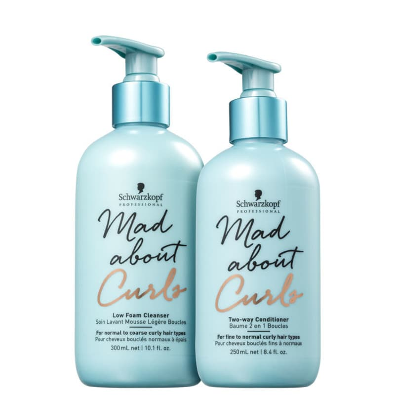 Kit Schwarzkopf Professional Mad About Curls Duo Low (2 Produtos)