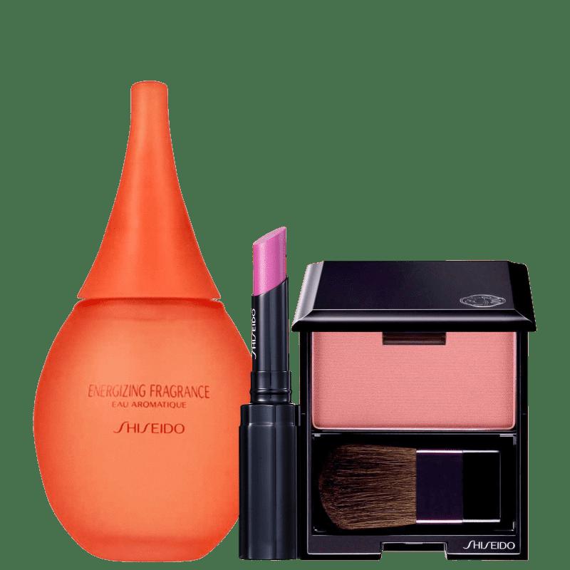 Kit Shiseido Make &amp, Aromatique (3 Produtos)