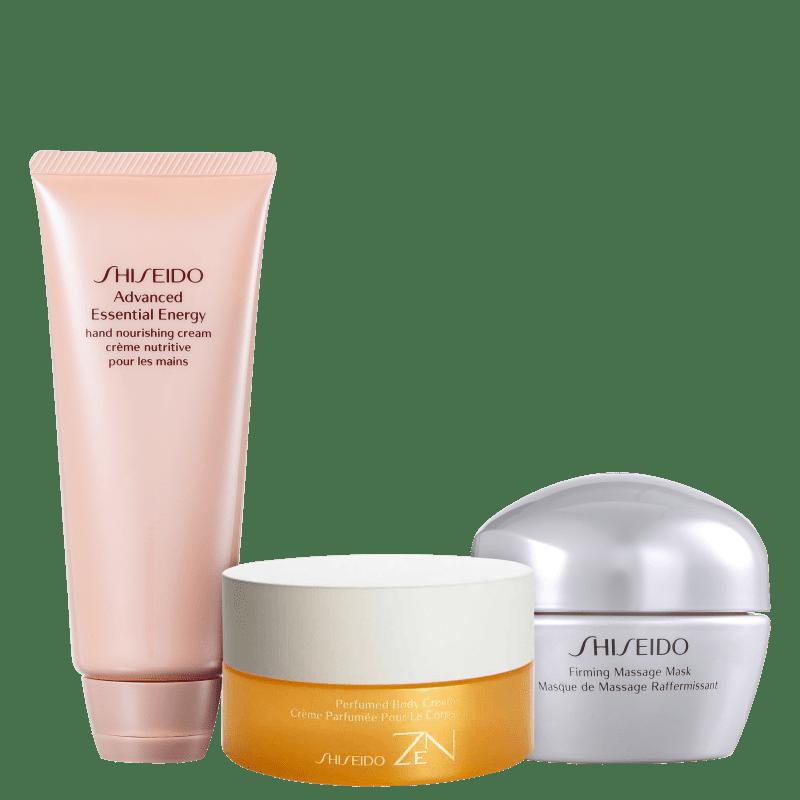 Kit Shiseido Zen Face & Body (3 produtos)