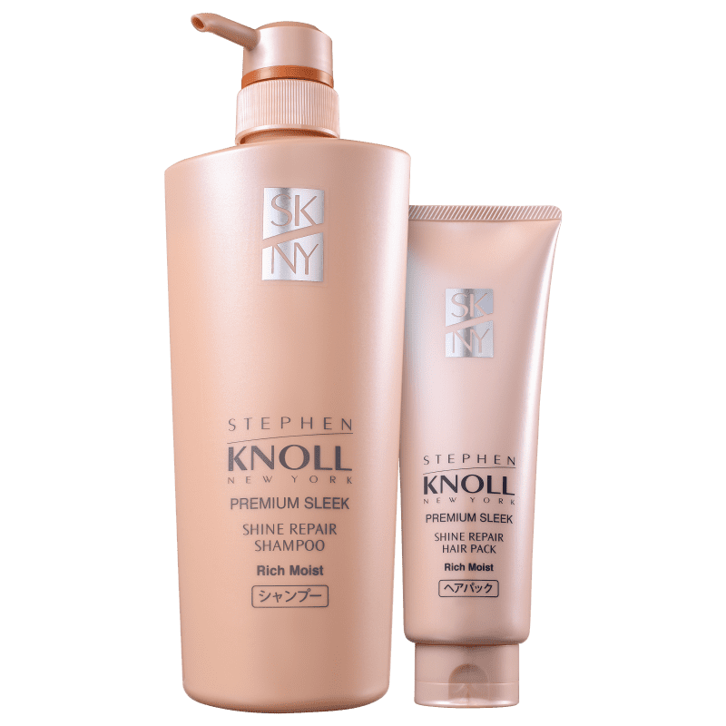 Kit Stephen Knoll Shine Repair Rich Moist Intensivo (2 Produtos)