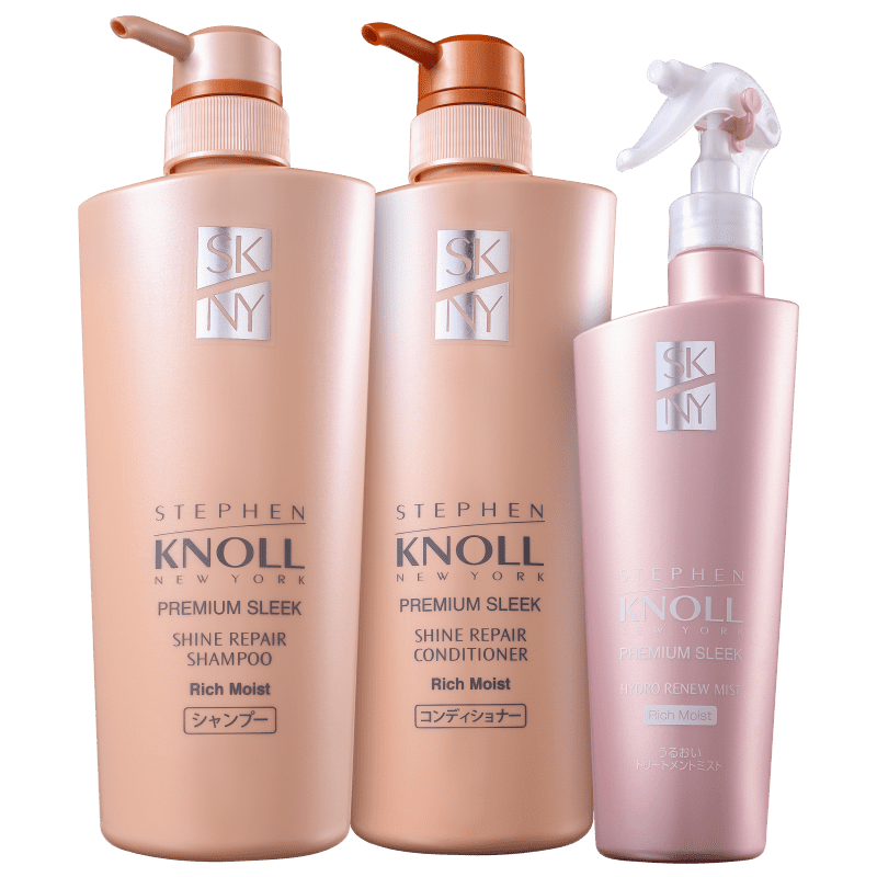 Kit Stephen Knoll Shine Repair Rich Moist Trio (3 Produtos)