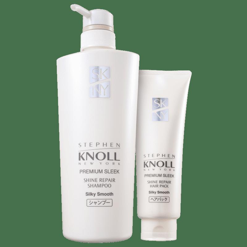 Kit Stephen Knoll Shine Repair Silky Smooth Intensivo (2 Produtos)