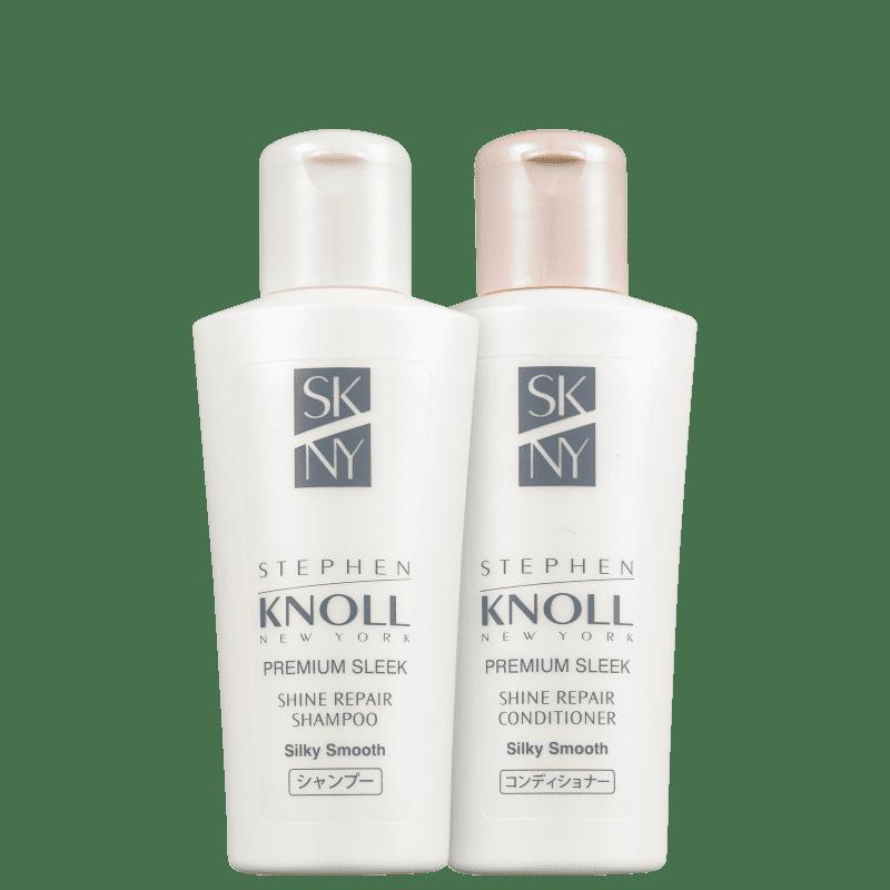 Kit Stephen Knoll Shine Repair Silky Smooth Mini (2 Produtos)