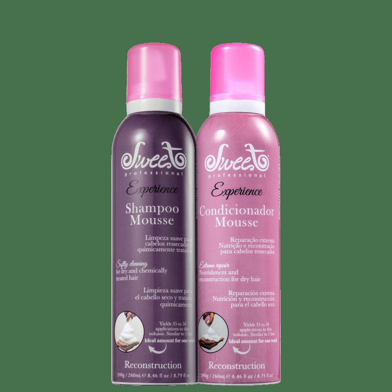 Kit Sweet Hair Experience Mousse Reconstruction Duo (2 Produtos)